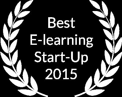 Mejor Startup Elearning Española 2015 por la Asociación Española de Proveedores de Elearning