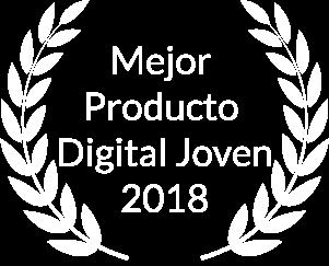 Mejor Producto Digital Joven 2018 por Product Hackers