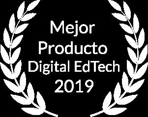 Finalistas como Mejor Producto Digital EdTech 2019