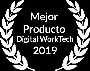 Finalista como Mejor Producto Digital Worktech 2019