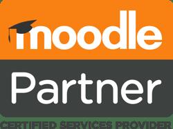 Moodle Partner Logo Stacked