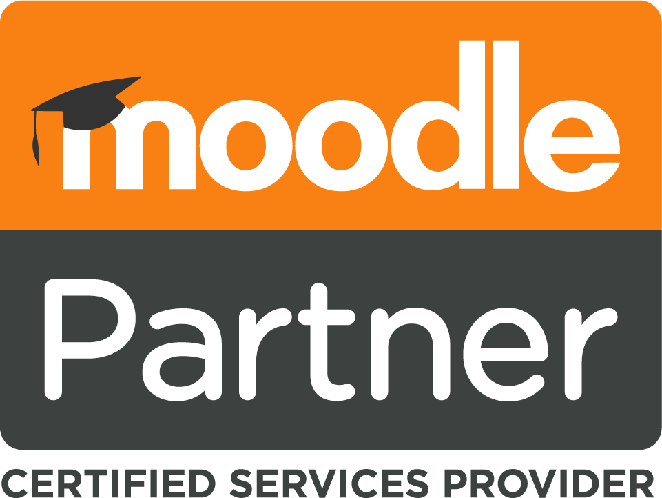 Moodle Partner Logo Stacked